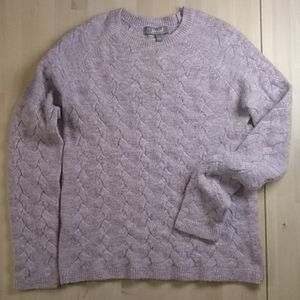 💜Marled Cable Knit Crew Sweater💜